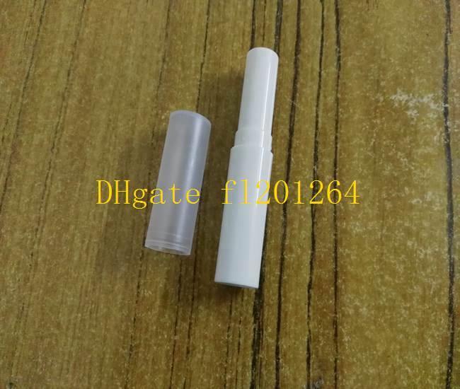 500 pz / lotto 4g FAI DA TE Tubo Rossetto Vuoto Balsamo le labbra Stick Container Lip Cream Bottle Tubo di plastica riutilizzabile