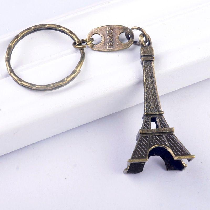 Mini Decoration Torre Eiffel Tower Keychain, Paris Tour Eiffel Keychain Key Chain Key Ring Key Holder Gift Souvenirs