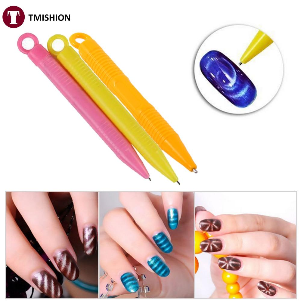 Wholesale New Nail Art Tool Magnet Pen Magic 3d Tips Magnetic Cat