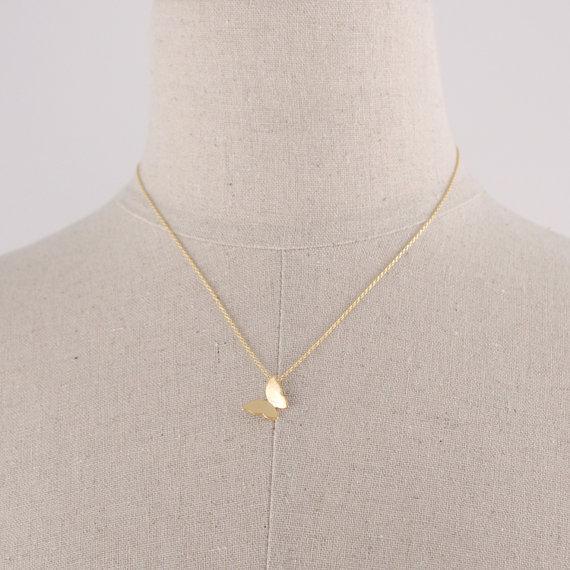 Collana calda del pendente della farfalla di hippy di vendita calda Donne di modo della Boemia Neclaces collana sottile di ms 2016