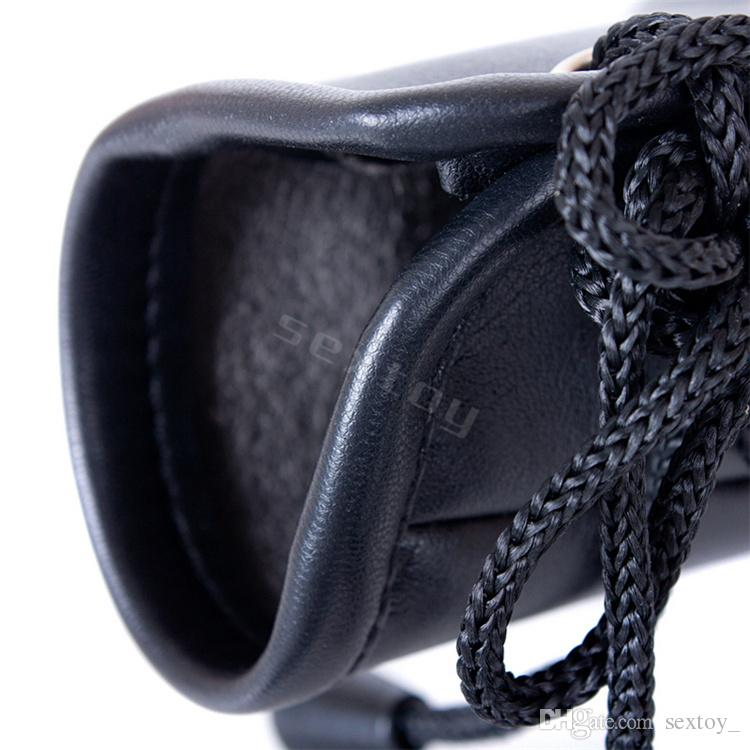 Sexy Leather Gloves Hand Wrist Cuffs Sex Position Bondage Belt Slave Erotic Toys in Adult Games Fetish Sex Product for Women