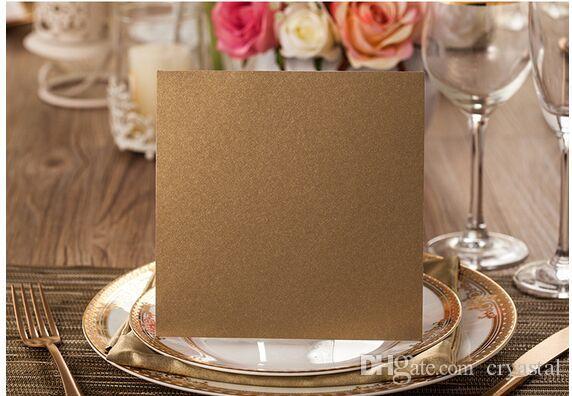 Invitations élégantes de mariage cartes avec évider carte rustique Laser Cut invatation Fleurs Party élégante invite Impression personnalisée