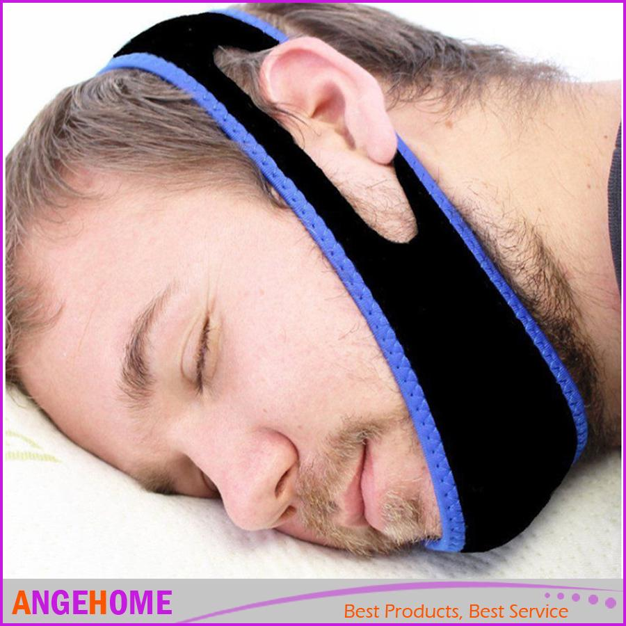 4d5845a47b41 Compre Anti Ronco Chin Strap Stop Snoring Belt Anti Snore Chin Jaw To Sleep  Supporter Ceifeira De Apneia Para Mulher Man Care Sleeping Tools De  Angehome, ...