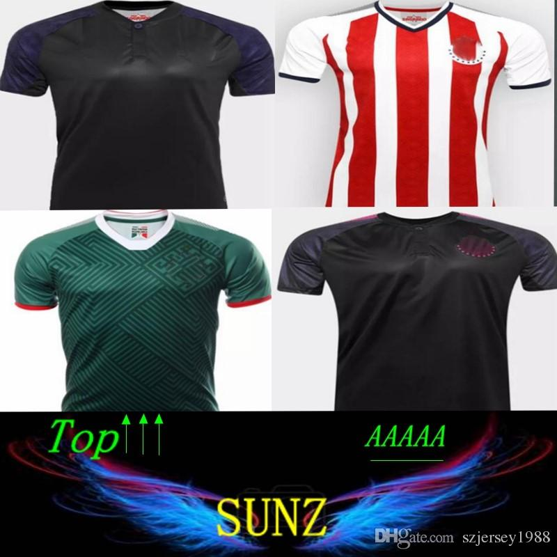 752778195e9 2019 New Arrived 17 18 Chivas De Guadalajara Limited Edition Pink Football  Shirt Classic 2017 2018 Camisetas De Futebol A.PULIDO Soccer Jersey From ...