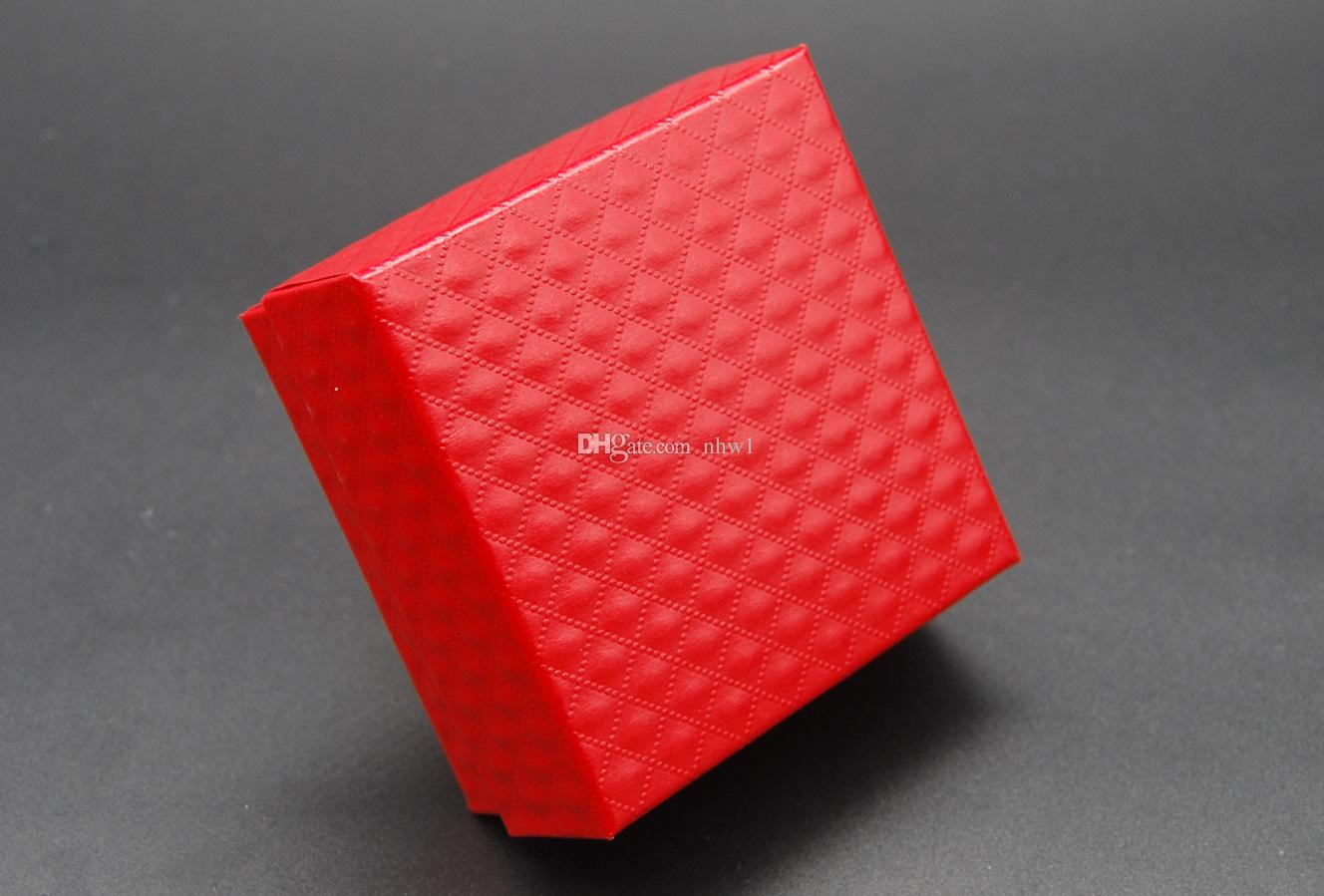 Hot Jóias Display Cases Colar De Papelão Brincos Anel Pulseira Conjuntos De Caixa De Jóias Embalagem Caixa De Presente com Esponja