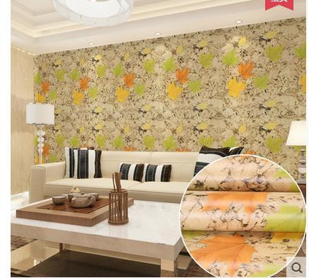 Sticky Wallpaper From Waterproof Wall Thickening Contracted And Contemporary Pvc Paste Sitting Room Background Warmth Bedroom 508 Christmas