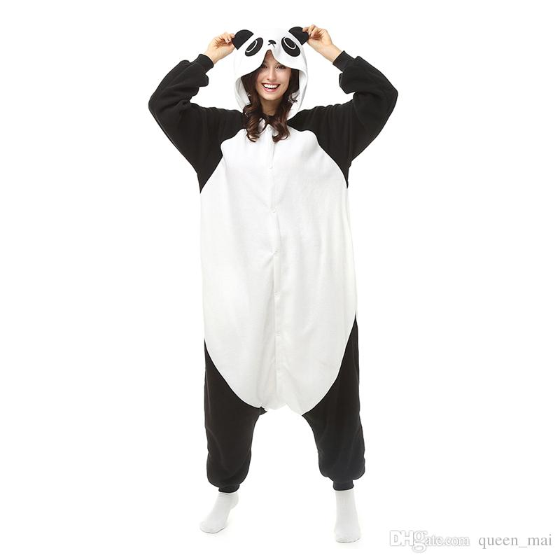 Panda Sleepsuit JP Anime Pajamas Kungfu Panda Cosplay Costume Pyjamas  Hoodies Unisex Adult Onesie Pajama Sleepwear Jumpsuit Large Group Costumes  Groups Of 4 ... 90578c11d0906
