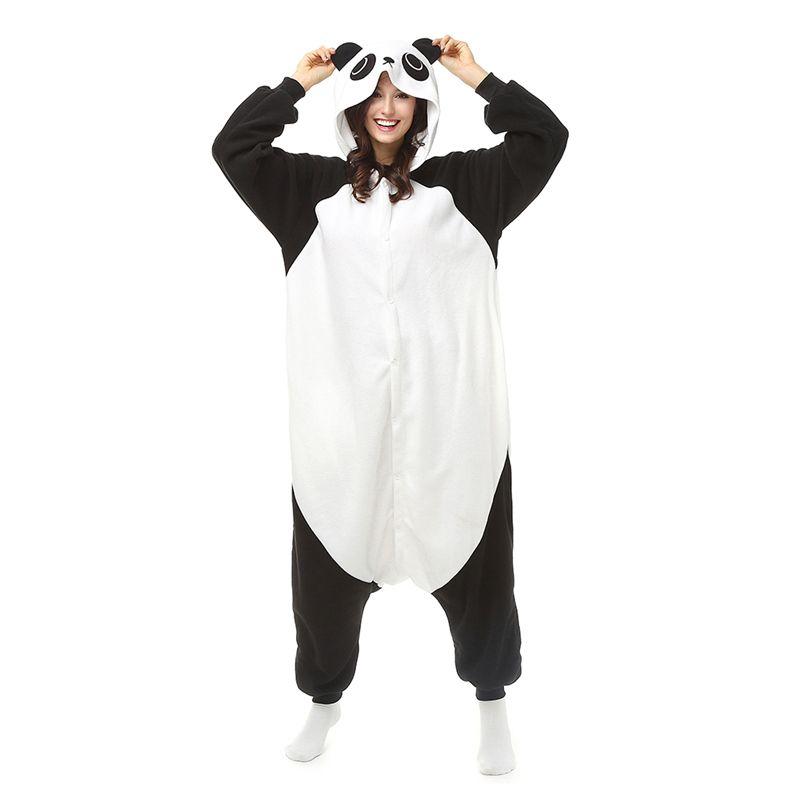 ff6d0a5f Panda Sleepsuit JP Anime Pijamas Kungfu Panda Cosplay Traje Pijamas Hoodies  Unisex Adultos Onesie Pijama ropa de Dormir mono envío gratis