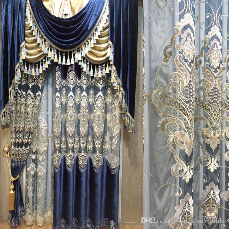 si vous en avez besoin veuillez nous laisser des remarques mode de vente coupe en vrac salle manger salon rideau embroidery