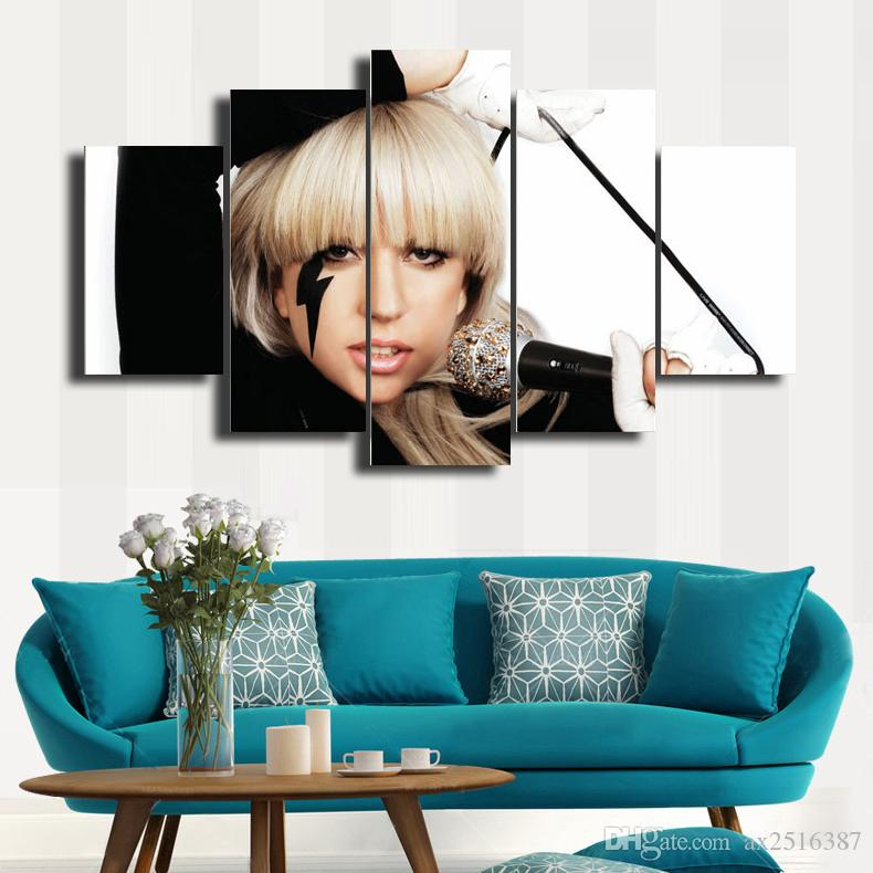 Gaga HD Picture Canvas Print Painting Wall Art For Wall Decor Home Decoration Cheap Artwork DH010