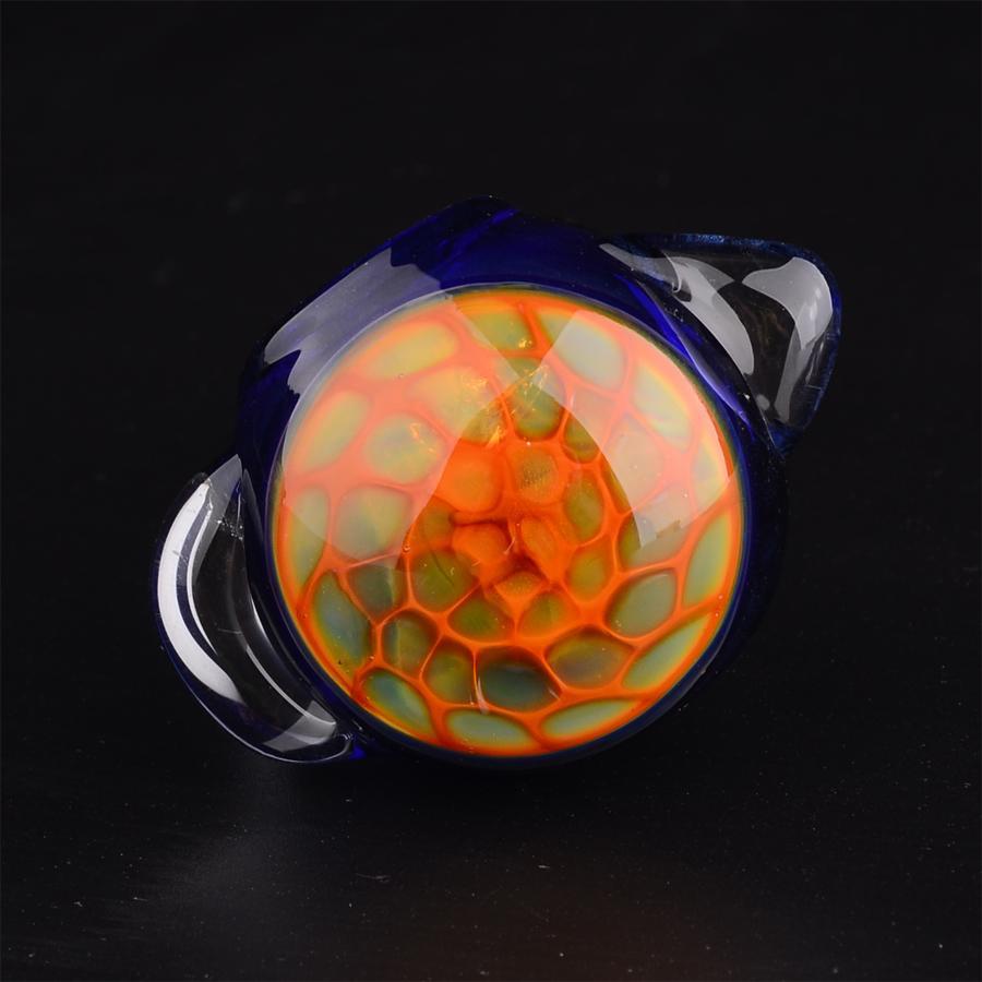 3.5 в стеклянная труба Сота глава чаша ложка табачные трубы для курения мини-рука трубы молоток трубы Оптовая T22