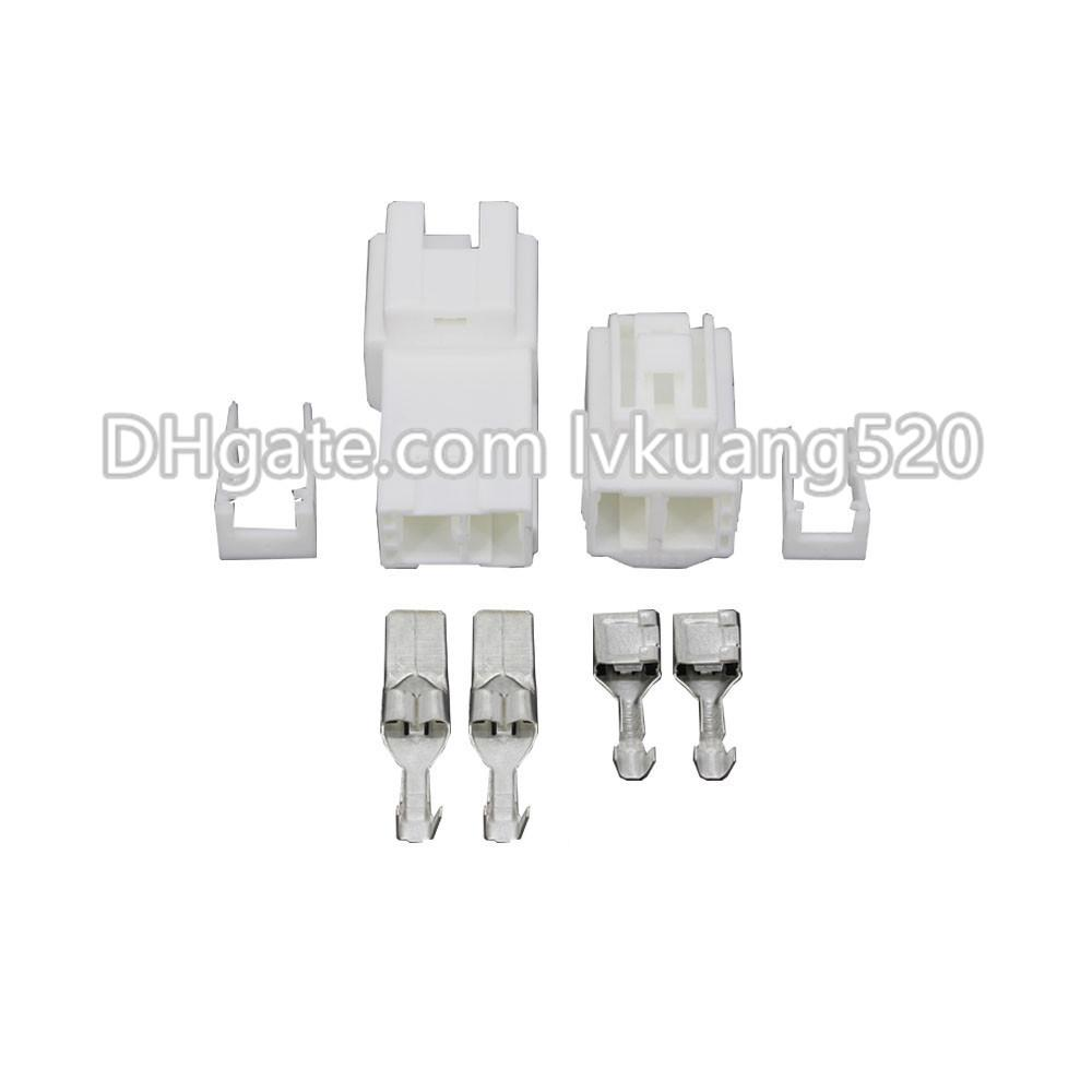 2 Pin 7.8mm Female And Male Auto Wire Electronic Connector Plug With Terminal DJ7025Y-7.8-11/21