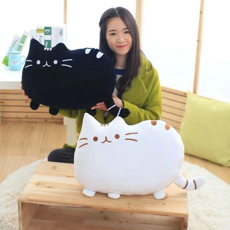 40*30cm plush toy stuffed animal doll, anime toy cat skin girl kid kawaii,cute cushion brinquedos Kids