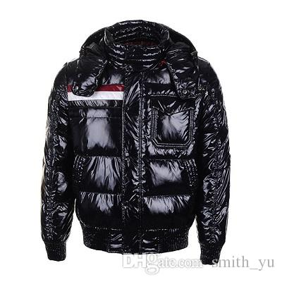 2a9465a40 Classic Luxury Fashion Brand Winter Down Jacket Men's Warm Coat Discount  Jackets For Men Padded Man Coats Red High Quality Sale