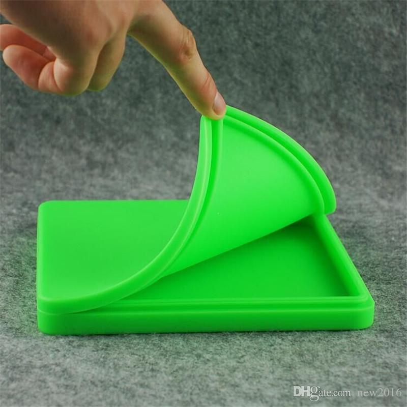 Mais barato Grande Silicone Antiaderente Recipiente Para Concentrado De Cera Tub / Óleo Slicks