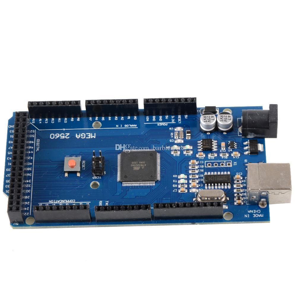 For Arduino ATmega2560-16AU CH340G MEGA 2560 R3 Board + USB Cable B00292