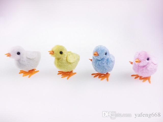 Бесплатная доставка по весне курица фаршированные цыпленок Прыжки на цепи моделирования милый ребенок цыпленок новинка игрушки