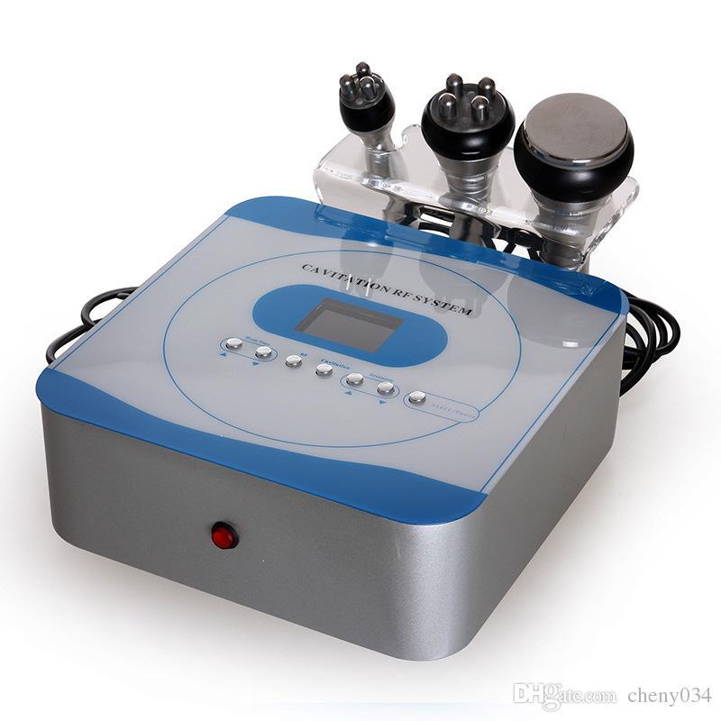 3 dans 1 la fréquence radio de la cavitation 5Mhz ULTRASONIC de 40KHZ et la machine légère menée rouge de beauté de visage et de corps pour l'usage à la maison