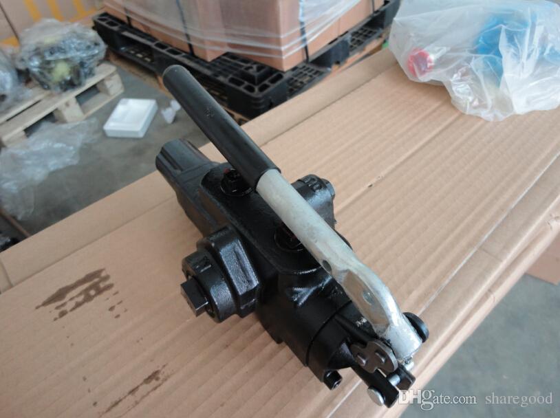 hochwertiges manuelles hydraulisches Wegeventil Dreiwegeventil o Typ 40LPM Betonmischer-Monoblockventil