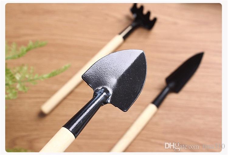 =Mini Garden Tools Small Show Rake Multi-function Garning Tool Household plants Break show IA1013