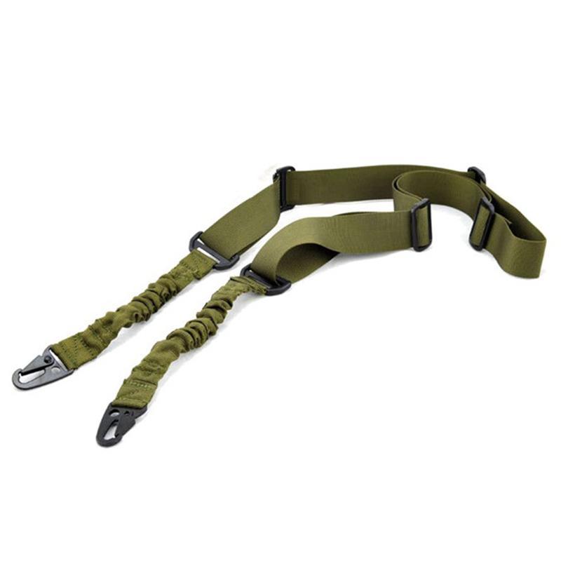 나일론 다기능 조절 2 포인트 전술 소총 슬링 사냥 총 스트랩 야외 airsoft 마운트 번지 시스템 키트 벨트