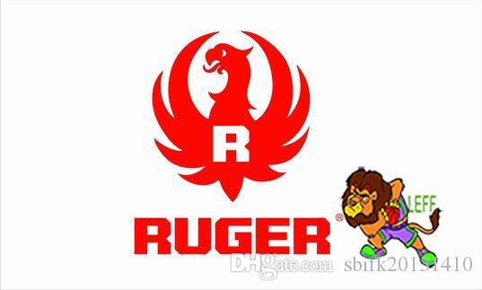 Ruger флаг, 90 * 150см, 100% полиэстер, баннер, цифровая печать
