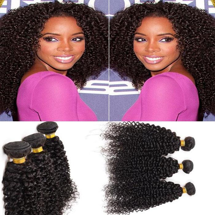 7a Brazilian Kinky Curly Top Rated Human Hair Weaves 8 30 100
