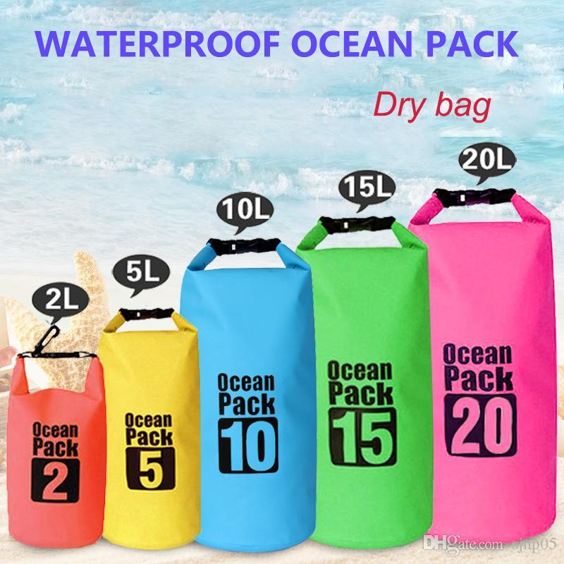 New Ocean Pack Wading Waterproof Bag Sports Outdoor Camping Travel