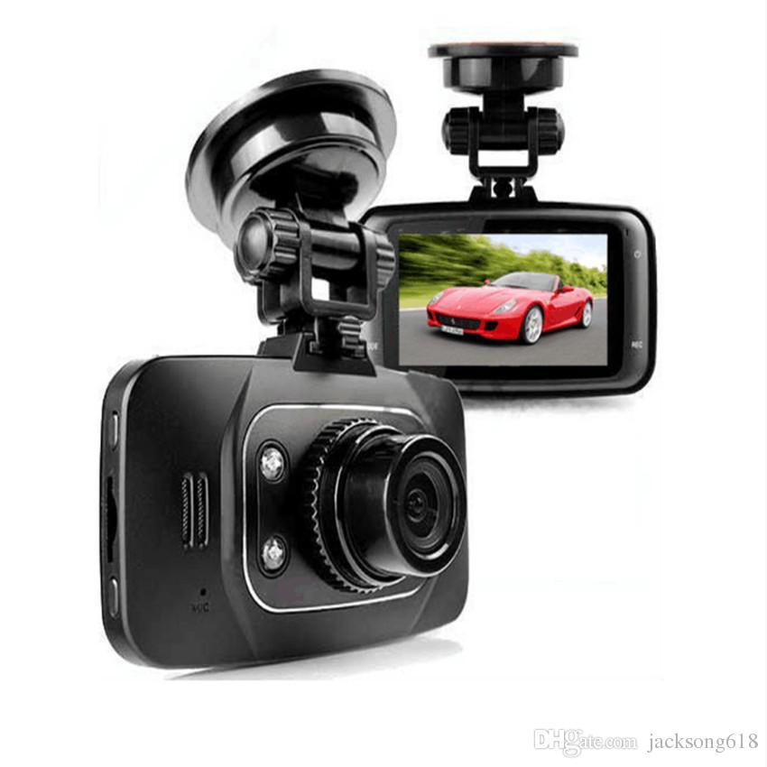 GS8000L Coche DVR Vehículo HD 1080 P Cámara Grabador de Video Dash Cam G-sensor HDMI Grabador de Coche DVR Negro Regalos Caja Al Por Mayor precio de Fábrica