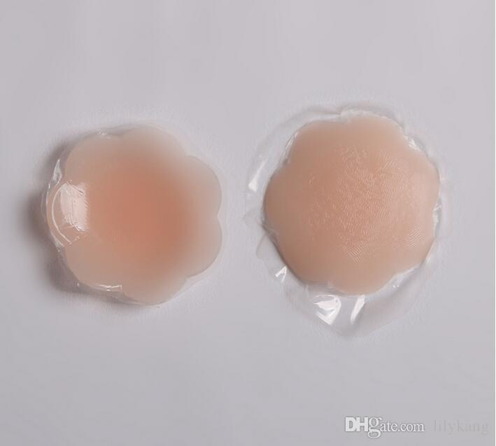2018 hot push up bras invisible bra nipple cover invisible silicone