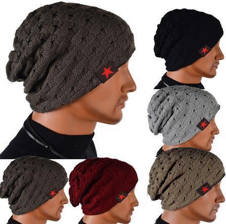 605090d6a88 Gorro Winter Autumn Reversible Beanie Men Hat Womens Hats