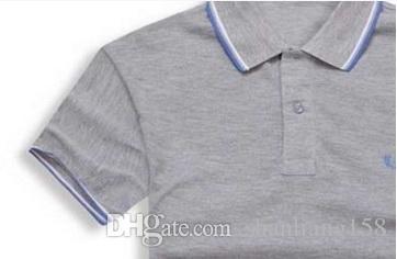 Venda quente 2017 verão venda quente camisa polo marca polos homens manga curta esporte polo homem casaco gota frete grátis
