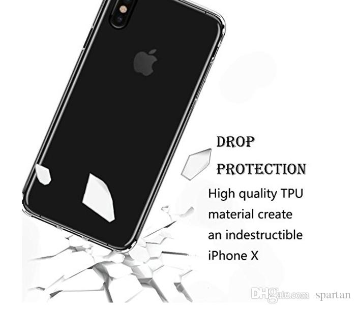 Tpu Clear Case For iPhone 12 11 X iphone 8 7 6 Plus Silicon Slim Transparent Gel TPU Phone Cover 1mm