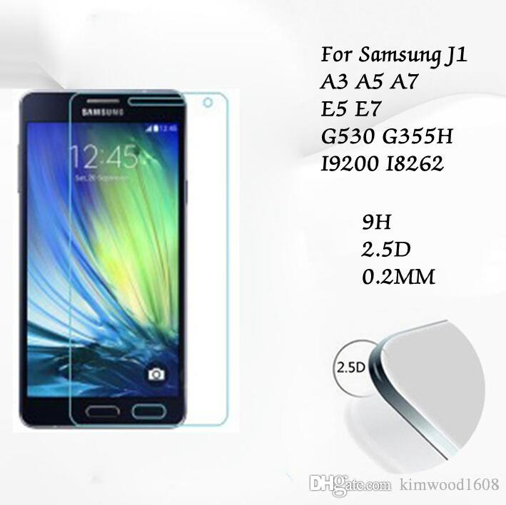 Tempered Glass Manufacturer Factory Price Screen Protector For Samsung 2015 J1 A3 A5 A7 E5 E7 G530 G355H I9200 I8262