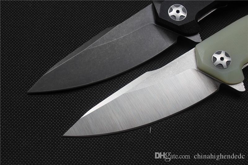 Freies Verschiffen, Qualität Miker Klappmesser Klinge: 440C Stain / schwarz, Griff G10, Outdoor-Camping-Jagdhandwerkzeugen, Großhandel.