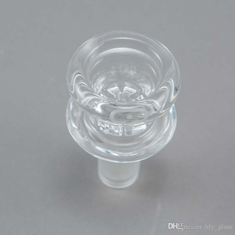 201 New design mobius glass bowl with 14mm 14.4mm male joint glass smoking bowl 18.8mm 18mm size smoking accessories wholesale