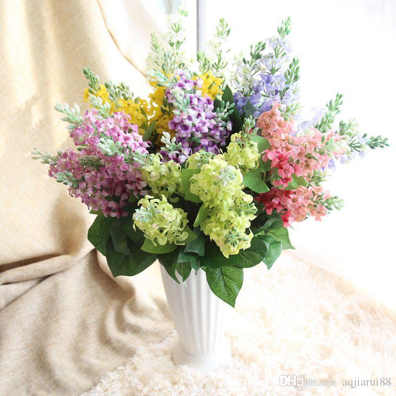 Online Cheap Factory Artificial Bridal Hyacinth Bouquet Home ...