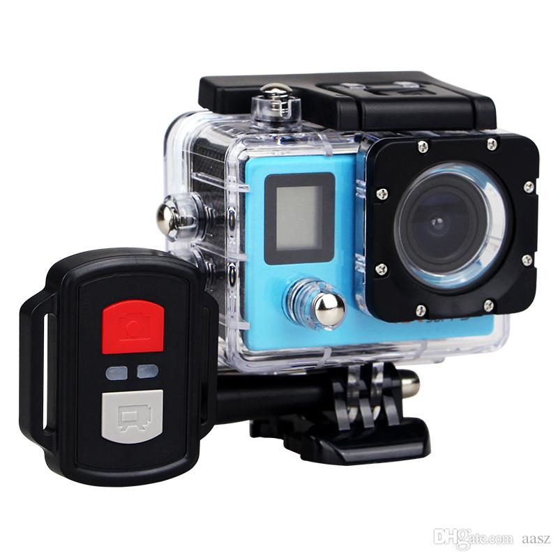 Best selling go style H22R 4K Wifi Action Camera 2.0 Inch 170D Lens Dual Screen Waterproof Extreme Sports Camera pro HD DVR Camera