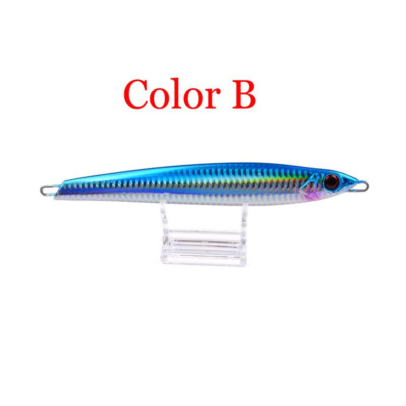 Brand Proberos 250g/17cm Metal Jigs Artificial Fishing baits Deep swimming Aolly Stainless Steel Iron Big lures