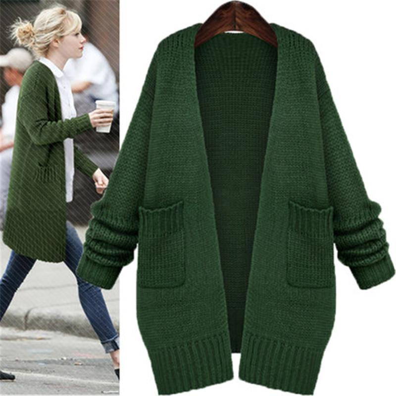 2019 Wholesale Europe Street Style Cardigans Knitted Sweaters 2017