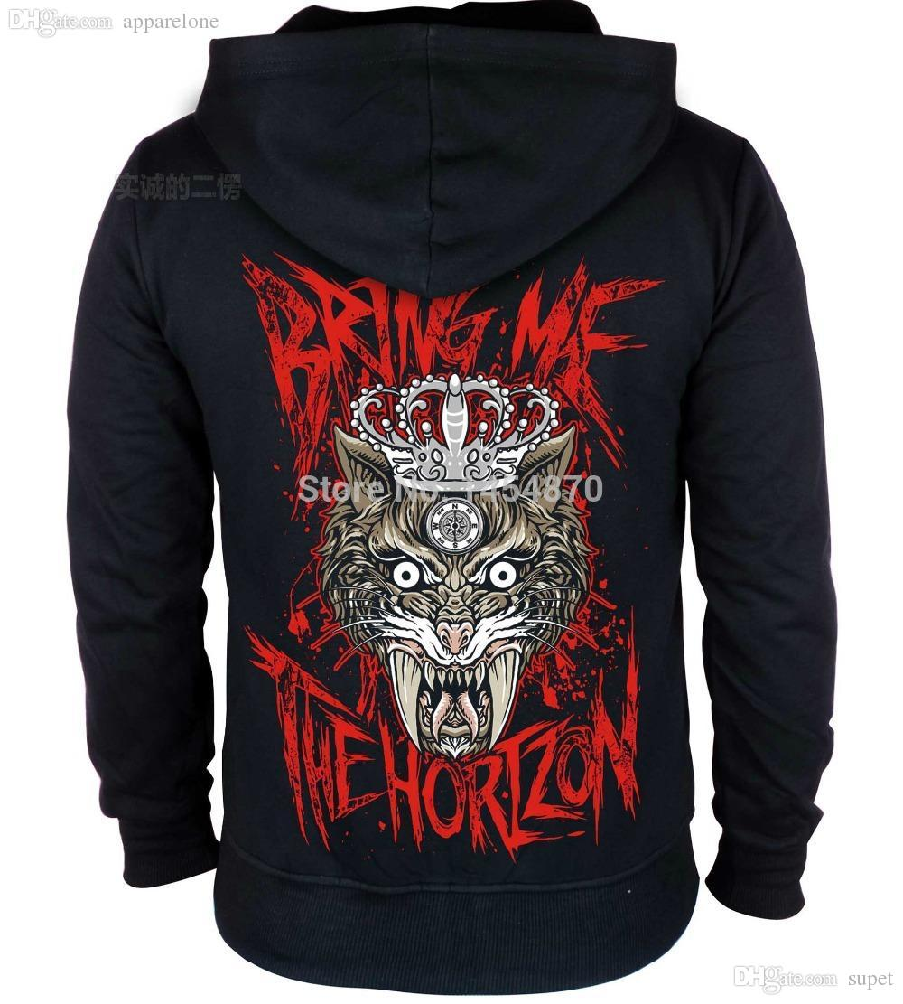 2019 Wholesale Fashion Demon Cat Bring Me The Horizon Band