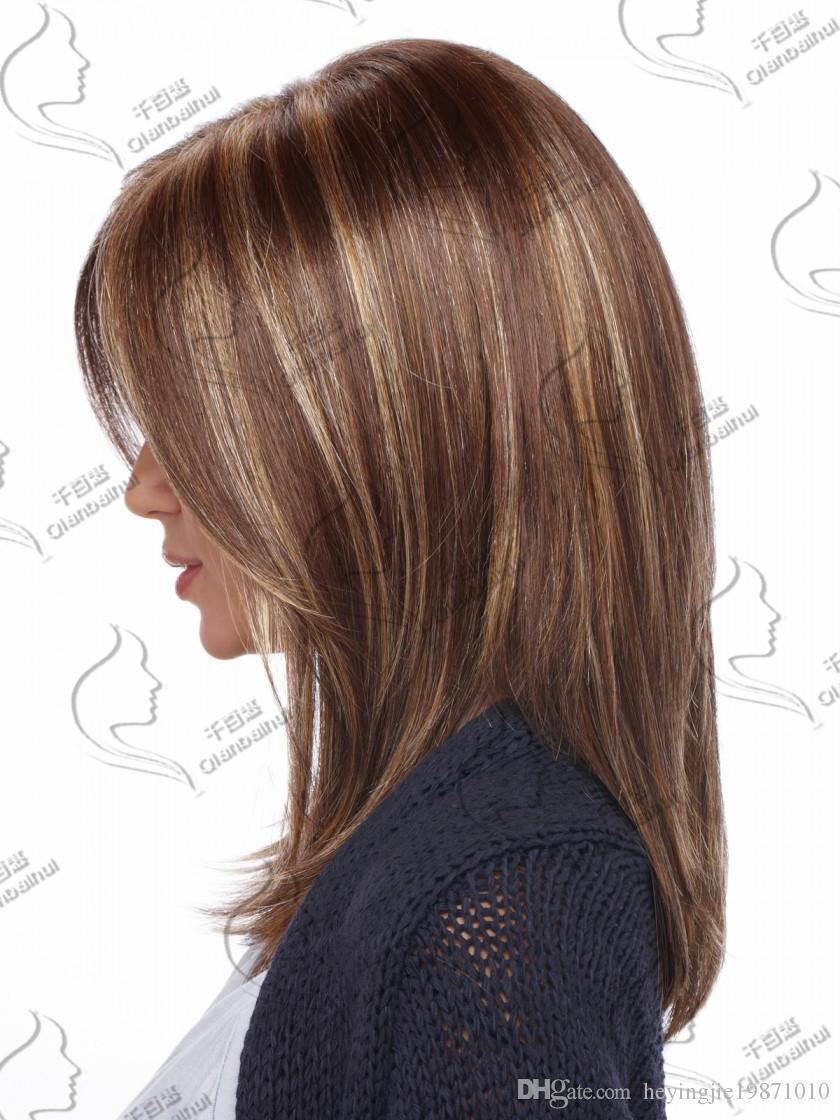 Top qualité mode courte perruques droites coupes de cheveux noir bob kanekalon afro-américaine femmes perruque cheveux nouveaux pour les femmes en stock