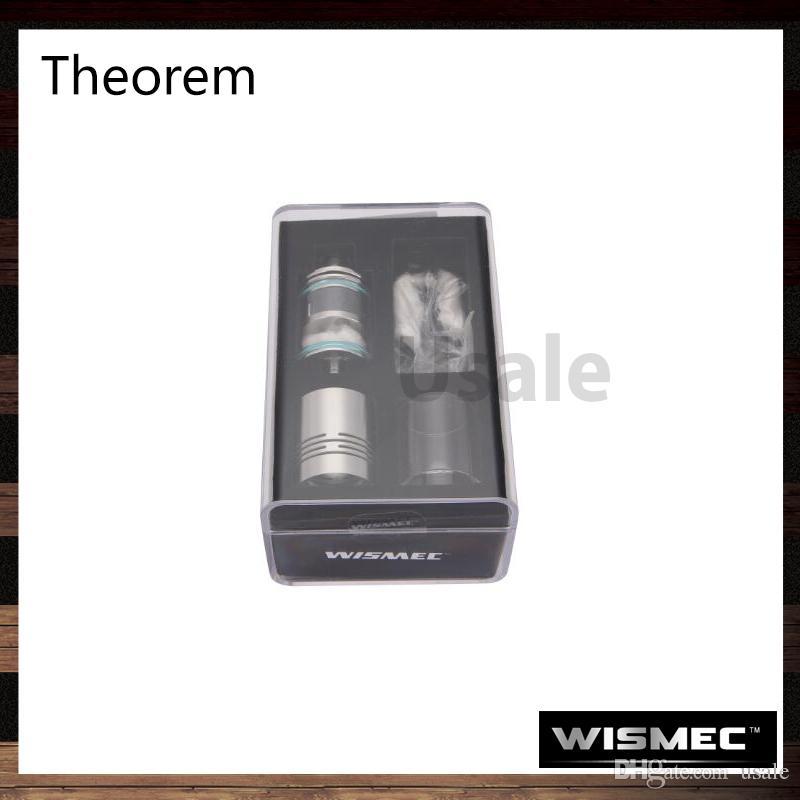 Wismec Theorem RTA Atomizer Jaybo a conçu le remplissage supérieur Anneaux optionnels de tube et de contrôle de flux d'air d'atomiseur Anneau flambant neuf 100% d'origine