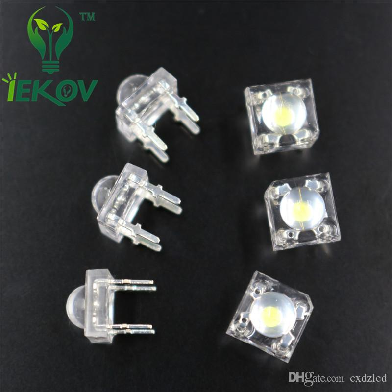 5MM Piranha Yellow Super Flux Leds 4pin Wide Angle Super Bright light Emitting Diodes Lamp For Car Light High Quality Hot Sale