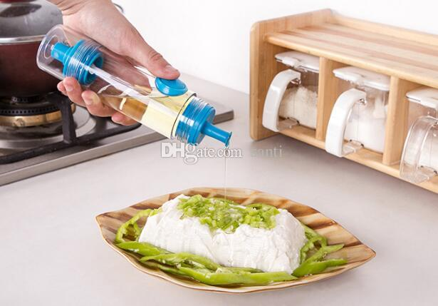 2 in 1 Cooking Olive Oil Pump Sprayer Bottle + Press Dispenser Cruet Bottle Container BBQ Cake Pastry Kitchen Tools