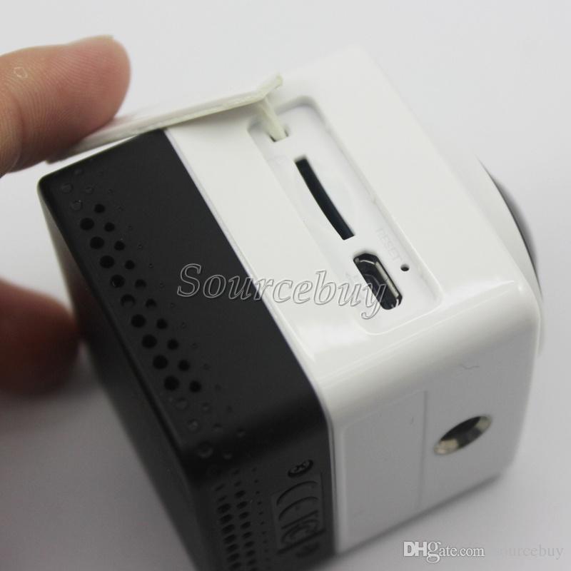 360 degree Camera CUBE 360 Mini Sport Action Cameras 1280*1042 28 fps 720P Panoramic VR Build-in WiFi Mini Ultra Travel Life DV Camcorder