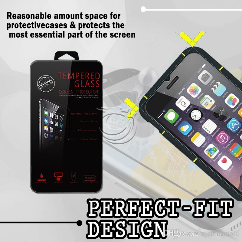 Tempered Glass For BLU R1 HD Screen 9H Protectors with retail crystal package