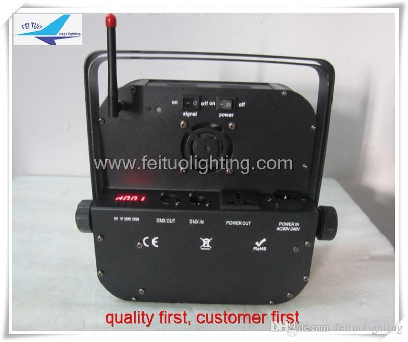 24 أجزاء / وحدة شحن مجاني مرحلة الإضاءة اللاسلكية البطارية بالطاقة led شقة الاسمية 9x15 واط rgbwa 5in1 شقة led الاسمية يمكن