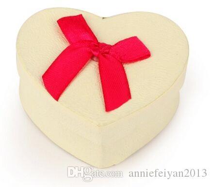 5 * 6 * 2,5 cm Herz Schmuck / Schmuck Sets Halskette Armbänder Ohrringe Ringe Geschenke Verpackung Verpackung Display Box Box