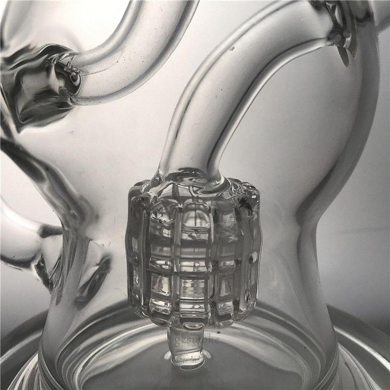 Dab rig vortex bong matrix pec bongs glass pipe water pipes recycler heady hitman wax oil rigs smoking accessories hookahs